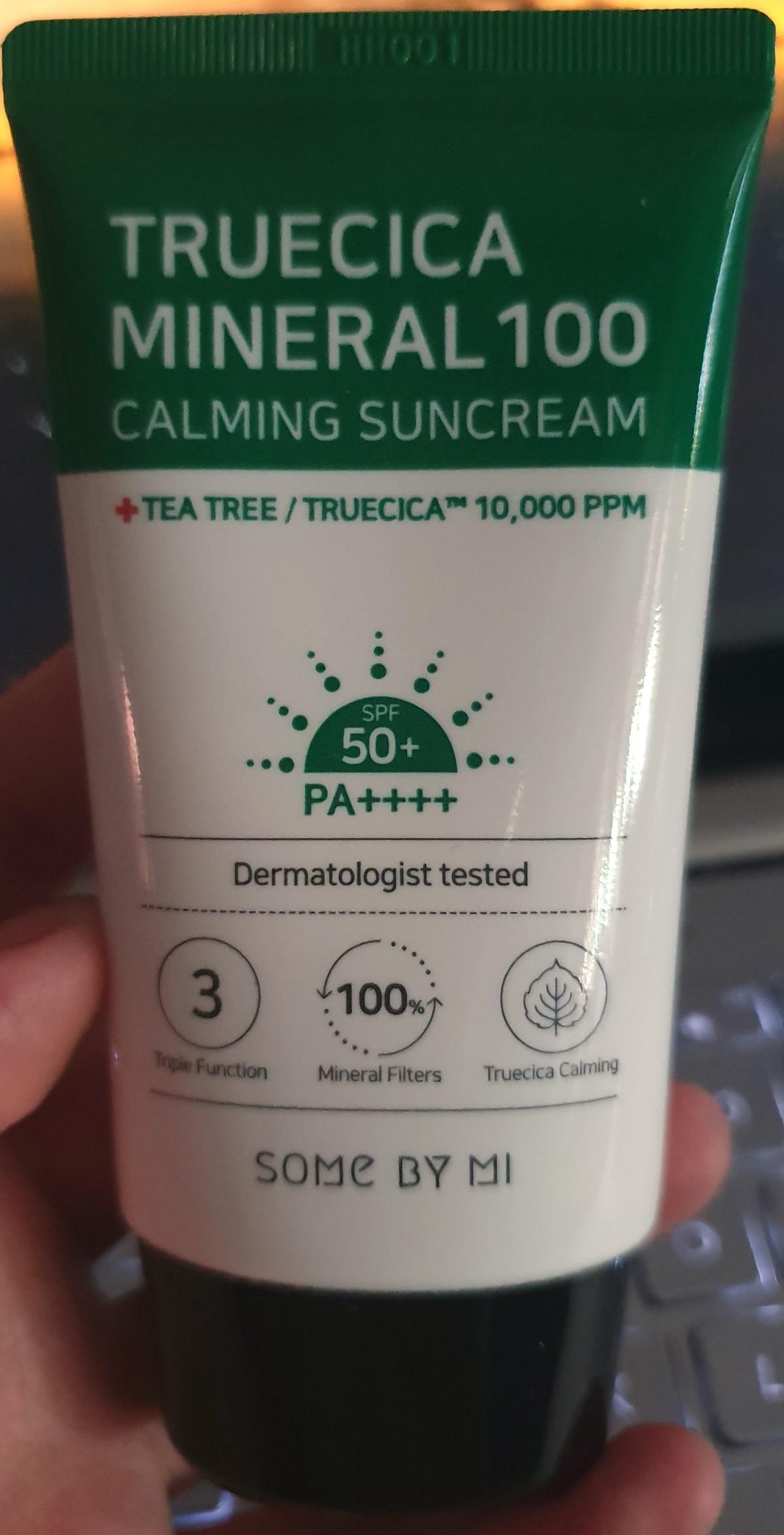Truecica Mineral 100 Calming Suncream SPF50+ PA++++  – Some byMi