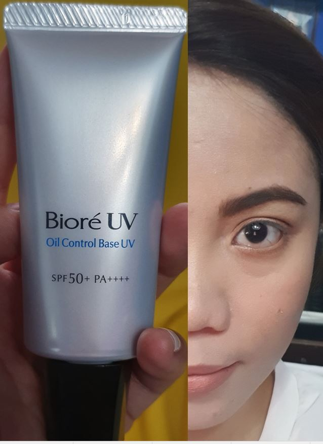 [Under Makeup Review] : Biore UV Covering Base – OilControl