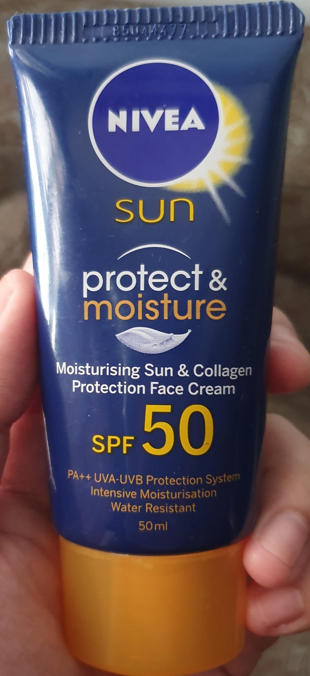 Nivea Sun Protect and Moisture Face Cream SPF 50++