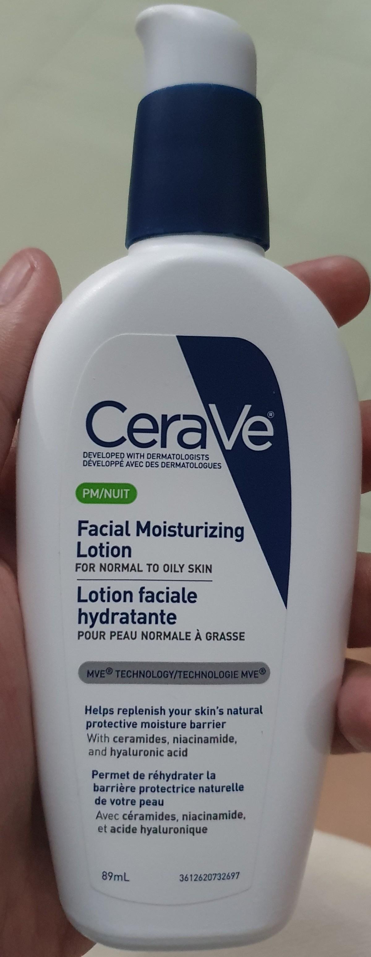 Cerave Facial Moisturizing Lotion(PM)